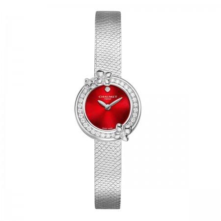 Montre Hortensia Eden-Laque Rouge