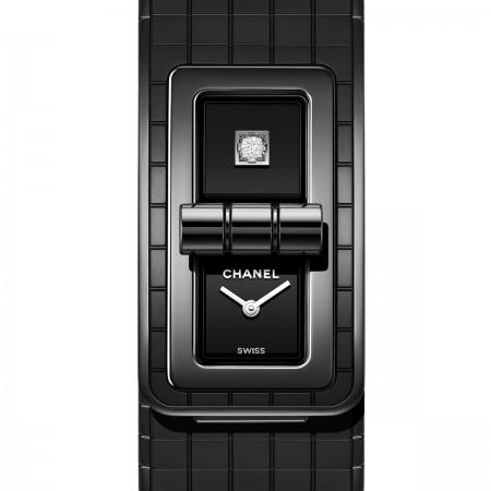 Montre CODE COCO So Black - Céramique haute résistance noire et acier - CHANEL - Vue par défaut - voir la version taille réelle
