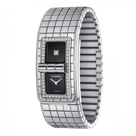 Montre CODE COCO - Acier serti de diamants - CHANEL