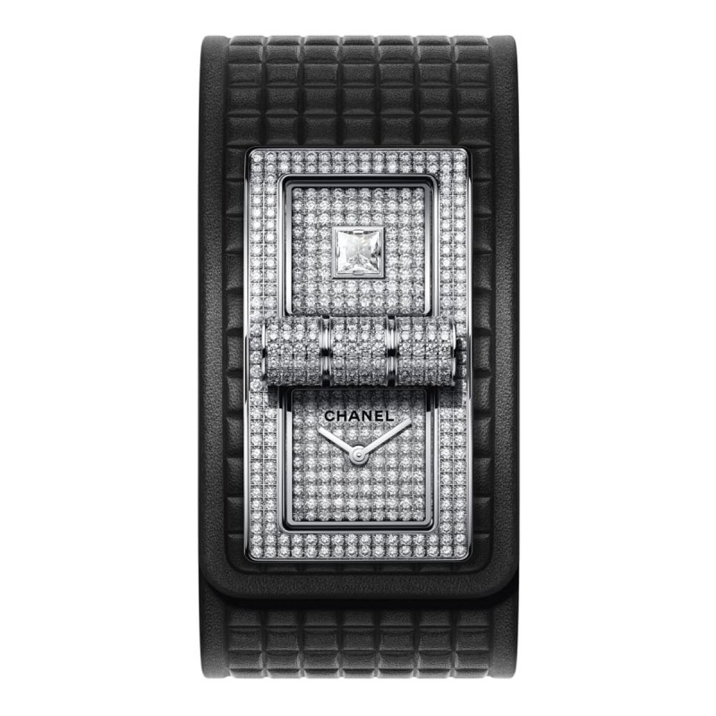 Montre CODE COCO - Or blanc 18 carats serti de diamants - CHANEL -